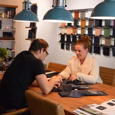 De modehuiskamer van Limburg bij MILL Tailoring